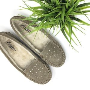 🍀 Lucky Brand suede leather loafers